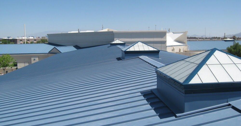 It Is Also Known As The Pitched Or Peaked Roof And It Is Considered As The Best Roofing Solutio Commercial Roofing Systems Commercial Roofing Roof Installation