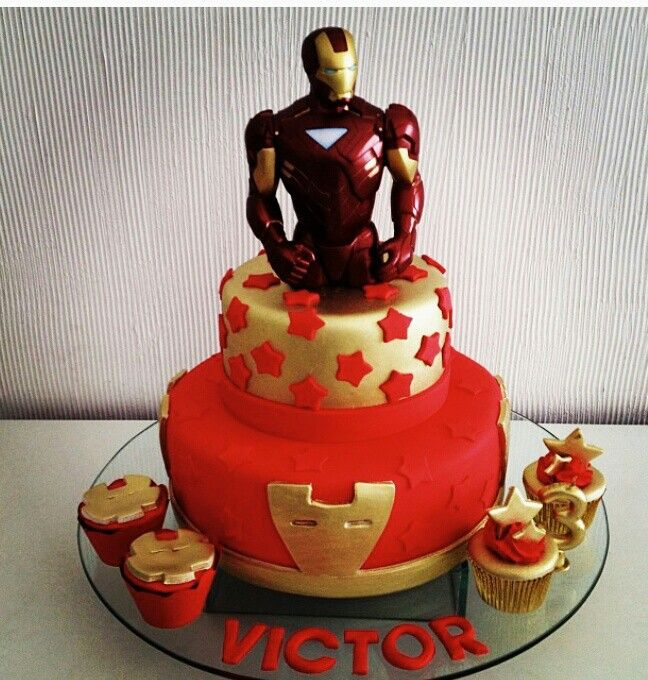 Iron Man Cake Birthdays Ironman Cake Iron Man