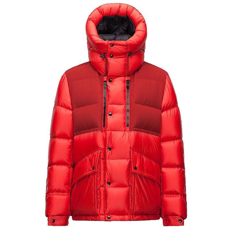 Men Moncler Red Aureal Padded Jacket