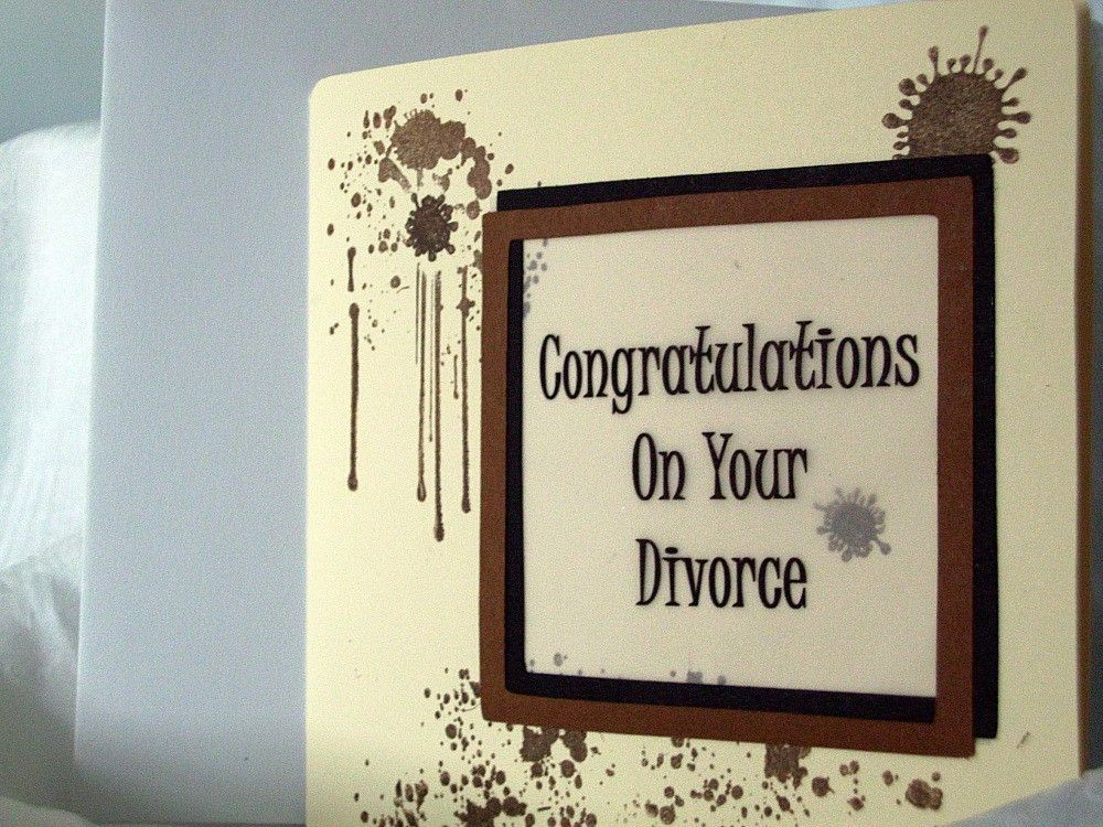 Funny Divorce Card   Divorce Gifts for Him   Pinterest   Christmas ...