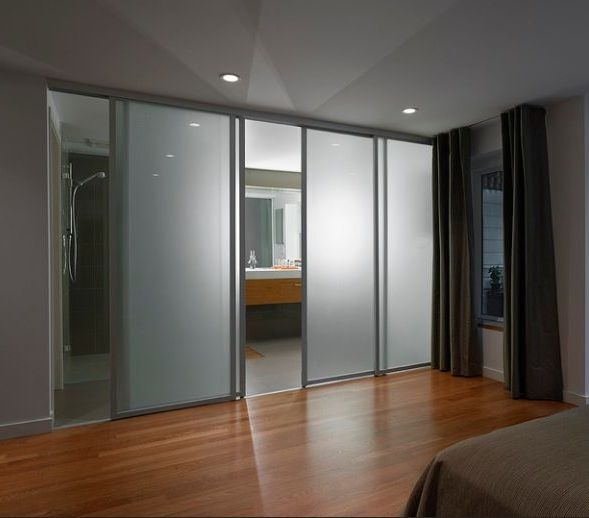 Image Result For Bathrooms With Sliding Glass Doors