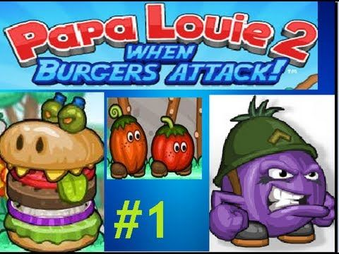 Papa Louie 2 Free Burger Day Will Never Be The Same Again If Marty And Rita Can T Find Their Way Back Home Papa Louie Funny Jokes