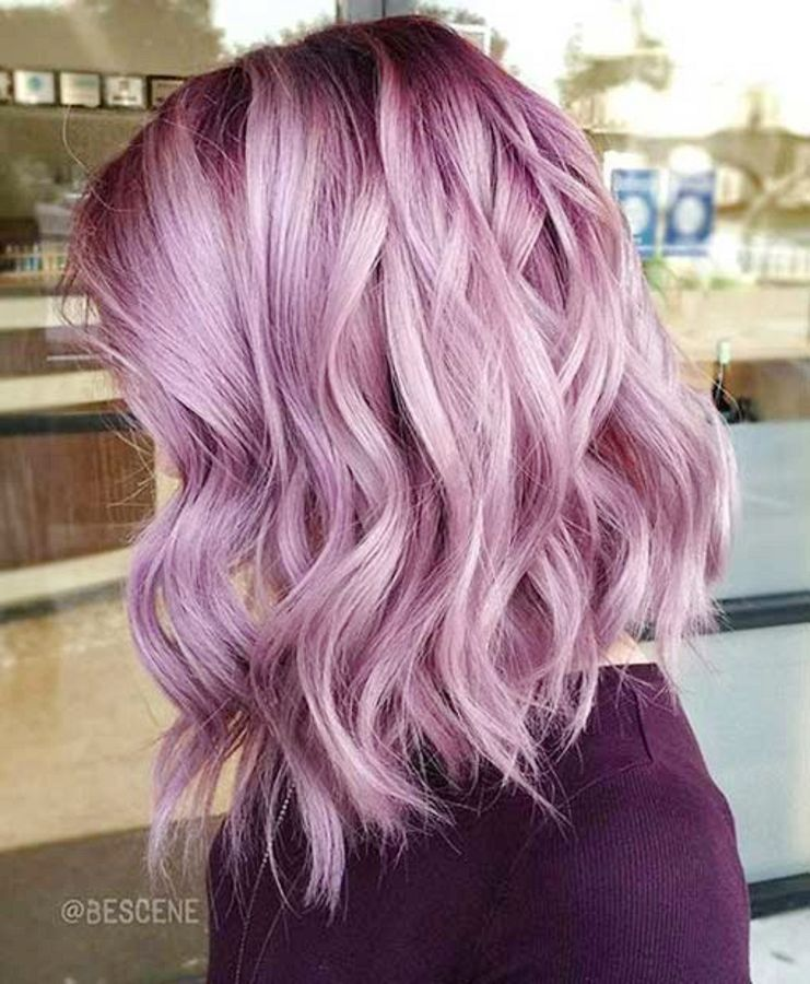 30 Trendy Silver Rose Hair Colors You Must Try Light Purple Hair Lilac Hair Spring Hair Color