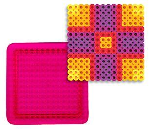 Small Square Pegboard for Perler Fuse Beads $1 25 (37% OFF