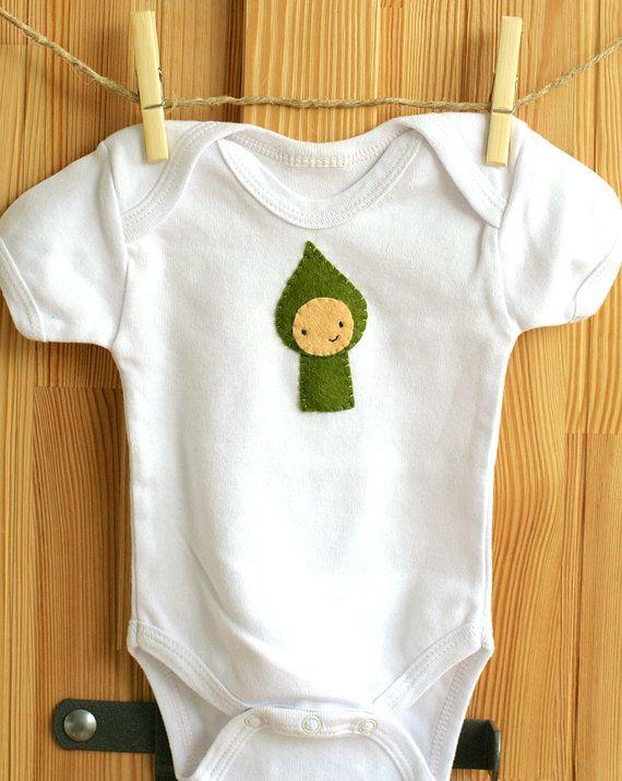 Hout Elf Woodland Forest Friends Shirt voelde door KappamakiDesign