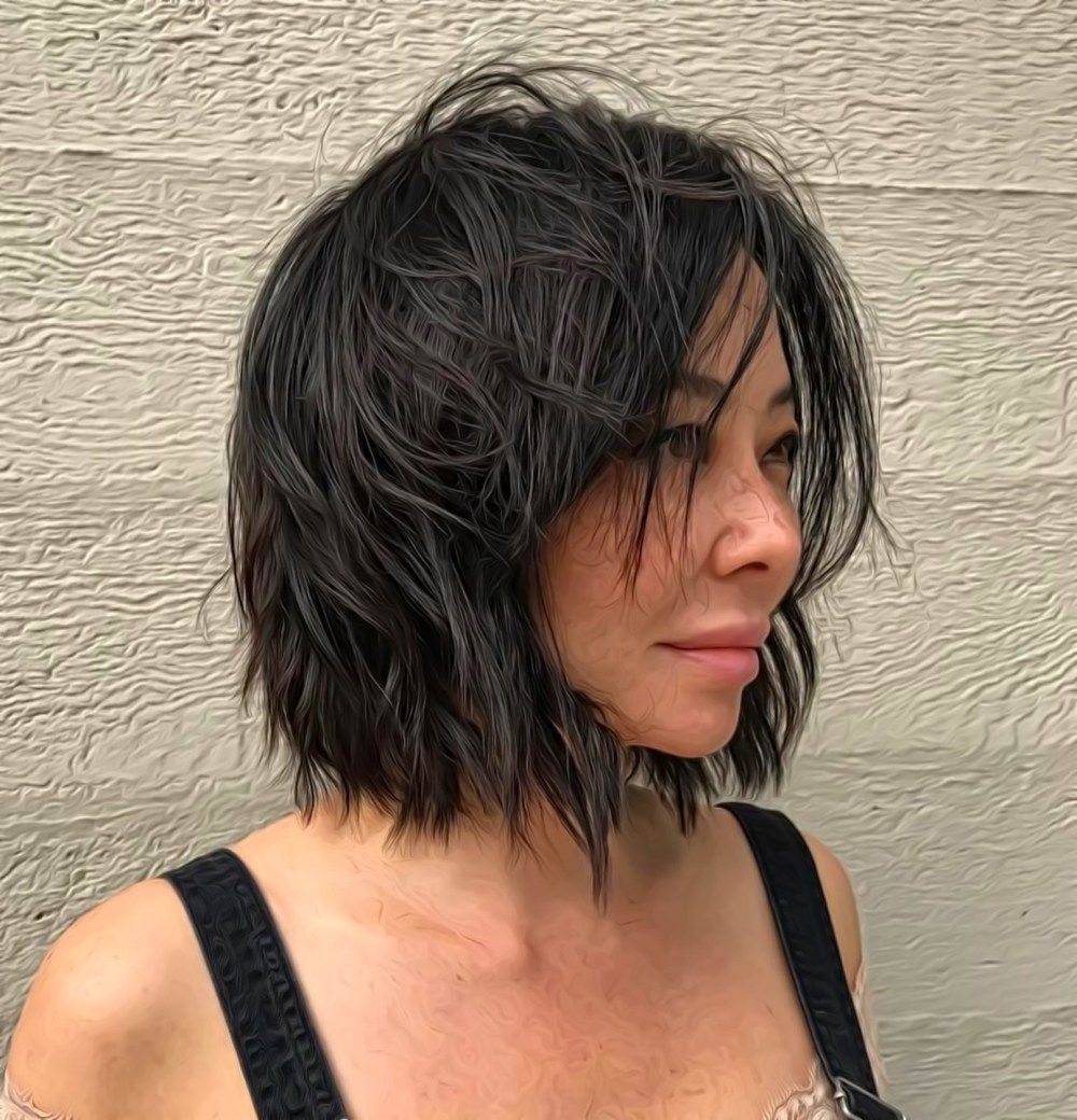 48++ Neck length black bob hairstyles 2018 information
