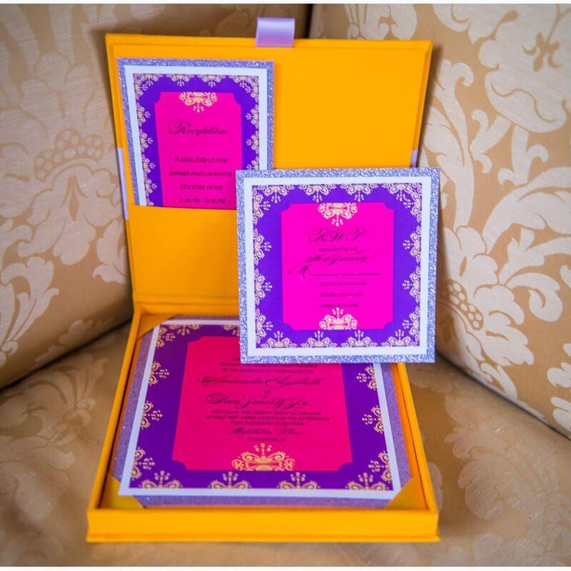Luxury Invitation Box Luxury Invitation Box