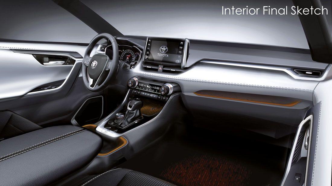 Toyota Rav4 Toyota Rav4 Interior Toyota Rav4 Car Interior Sketch