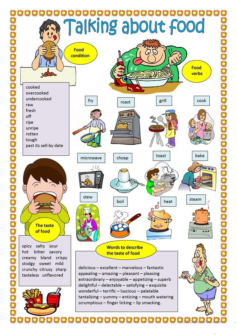 Talking About Food Worksheet Free Esl Printable Worksheets Made By Teachers English Vocabulary Learning English For Kids Learn English Vocabulary [ 1079 x 763 Pixel ]