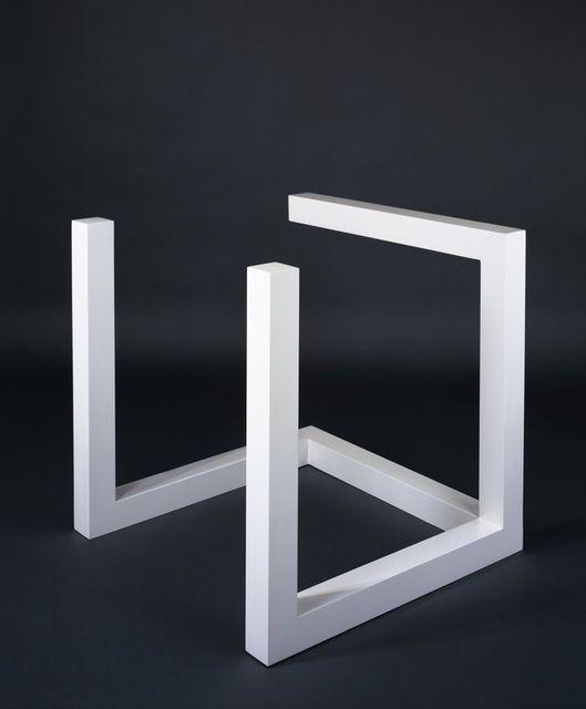 Art in art breaking open form with sol lewitt and banks for Sol lewitt art minimal