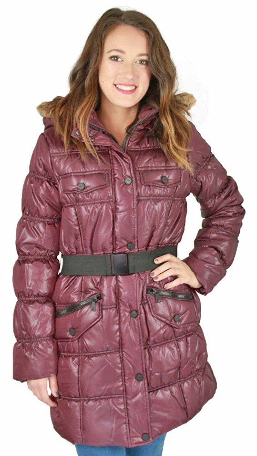 Urban Republic Juniors Long Belted Puffer Faux Down Winter Coat Jacket To View Further For This I Down Winter Coats Winter Coats Jackets Coats Jackets Women [ 1500 x 847 Pixel ]