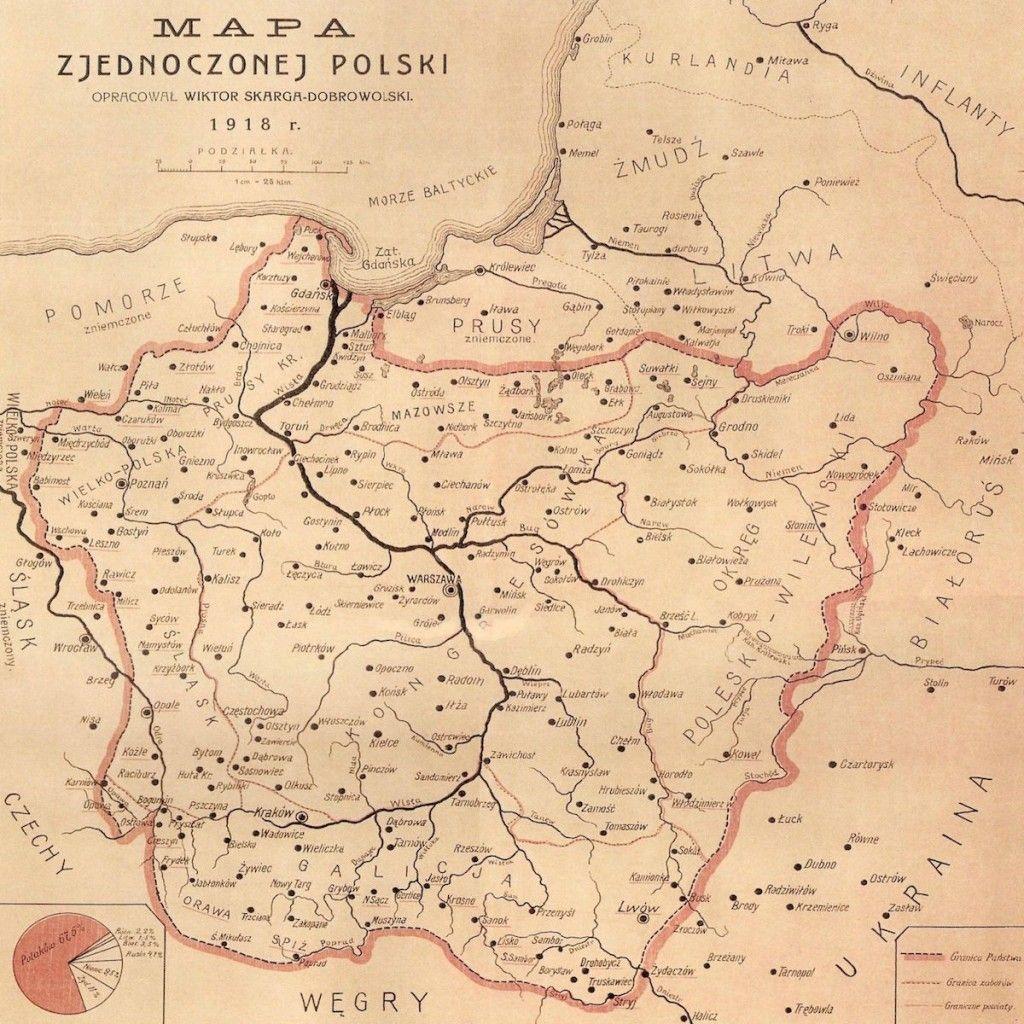 10 Fascynujacych Historycznych Map Polski Stare Mapy Mapa Historia