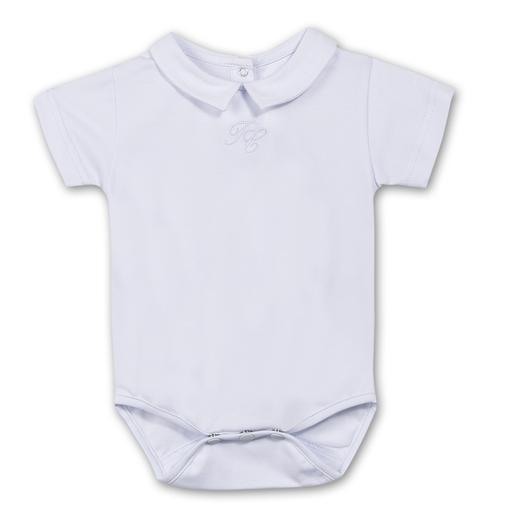 Cache Couche Blanc White Bodysuit Tartine Et Chocolat Baby Boy Accessories