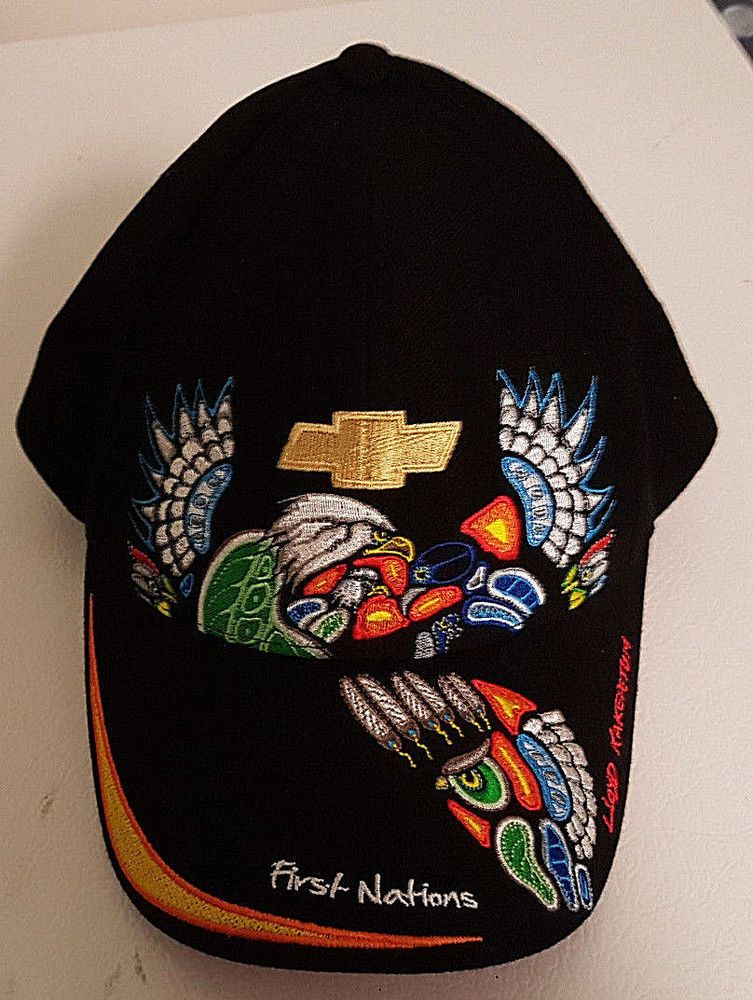 First Nations Chevrolet Cap Lloyd Kakepetum Native Artist Unique A Beauty Choko Baseballcap Boy Hat Beauty Clothes Mens Accessories