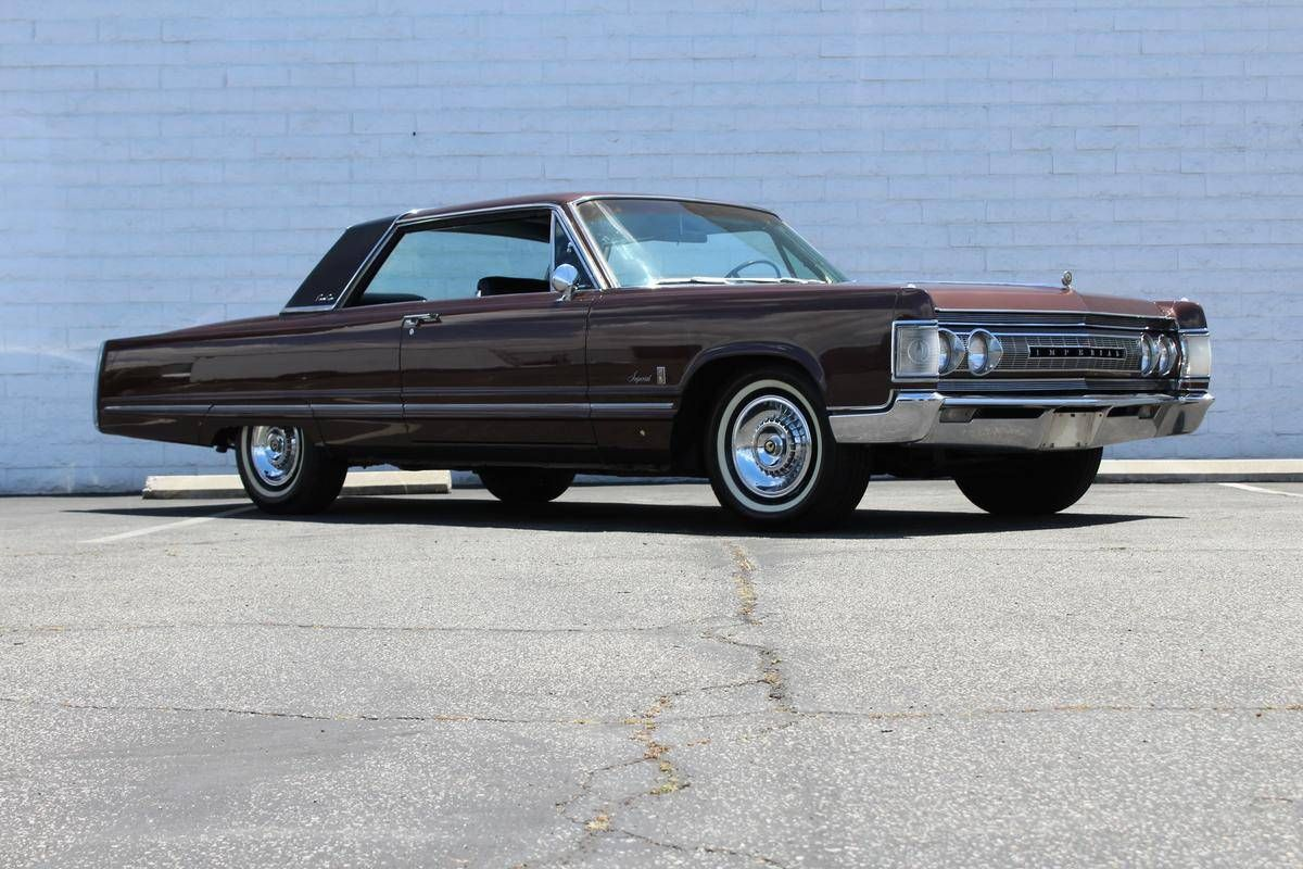1967 Chrysler Imperial Crown Coupe Chrysler Imperial Chrysler Cars American Classic Cars
