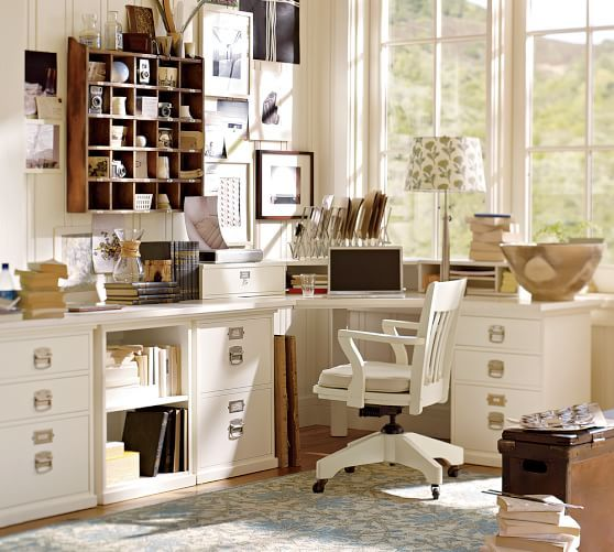 Build Your Own Bedford Modular Desk Home Office Furniture