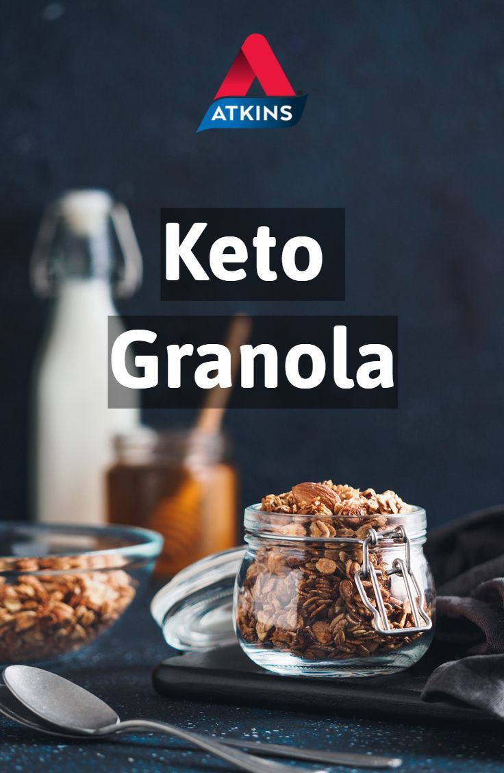 When You Crave Cereal For Breakfast Try This Low Carb Granola