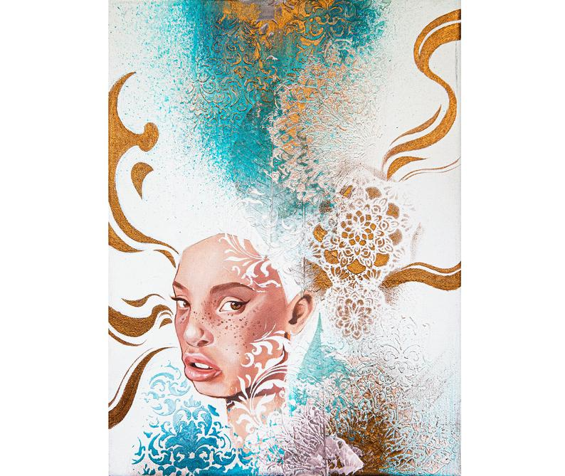 Portraitportrait Girloriginal Paintinggirl With White Etsy In 2020 Oil Painting For Sale Oil Painting Artwork