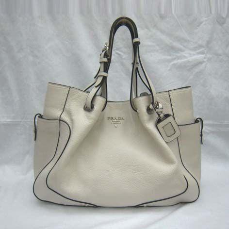 Prada Lambskin Ping Handbag Beige 3573 218 From Bagspurseonline