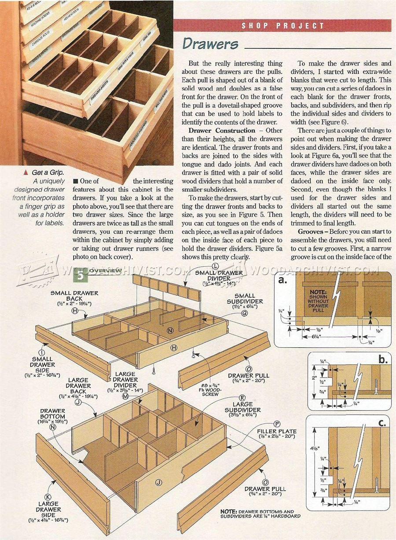 #1421 Hardware Storage Cabinet Plans - Workshop Solutions Plans Tips and Tricks  sc 1 st  Pinterest & 1421 Hardware Storage Cabinet Plans - Workshop Solutions Plans Tips ...
