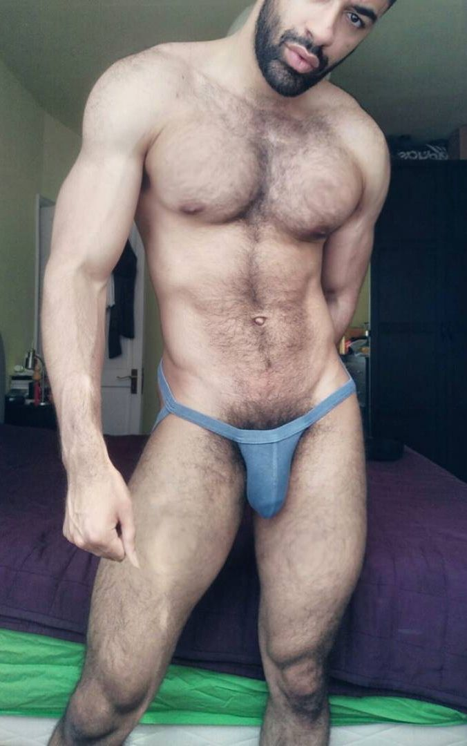 Hairy Hunky Men