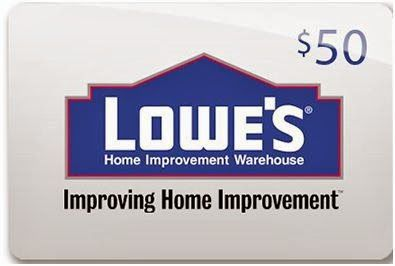 Sweepstakes 50 Lowe S Gc Chance 100k Dream Home Makeover Lowes Home Improvements Diy Giveaway Sweepstakes