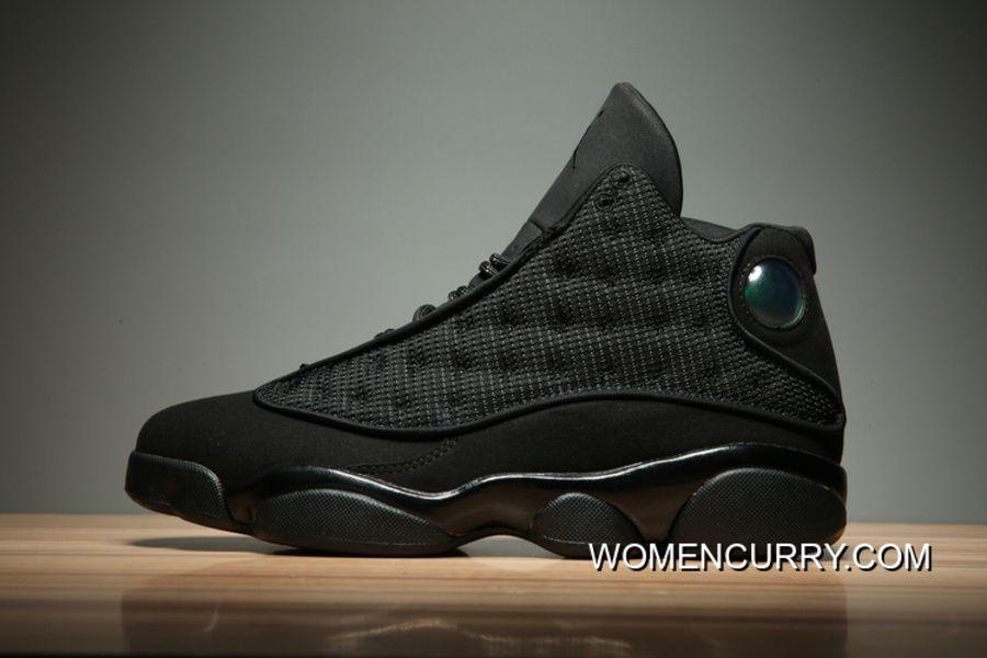 "4e403b21f50e6d Black Cat"" Air Jordan 13 Black Anthracite-Black Release Online"