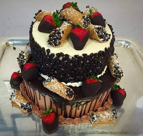 cannoli cake no recipe given copied from italian n proud. Black Bedroom Furniture Sets. Home Design Ideas