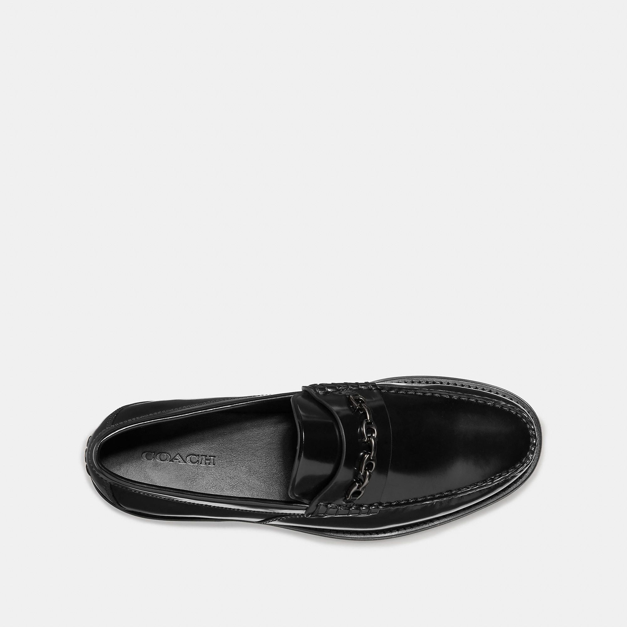 fd5f8dc9acb COACH Men s Chain Loafer Size 12 D Loafers
