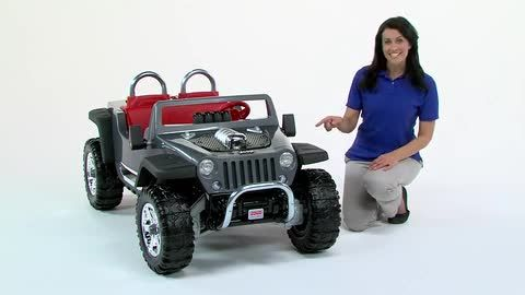Fisher Price Power Wheels Jeep Hurricane Ride On Toysrus Com