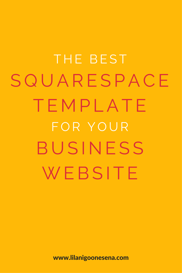 The best squarespace template for your business website pinterest the best squarespace template for your business website lilani goonesena punch above your weight with a versatile squarespace template perfect for any fbccfo Gallery