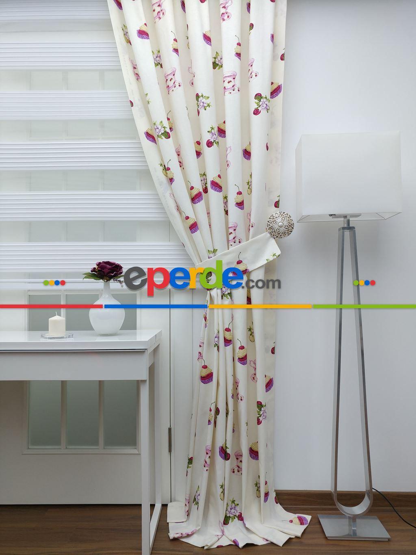 Mutfak için perdeler: kumaş, desen, renk seçimi