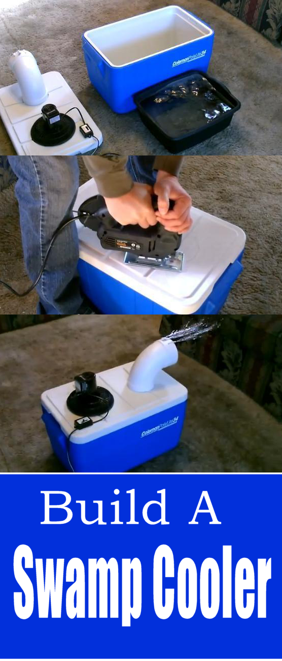 How to build a DIY Air Conditioner, aka Swamp Cooler for cheap. Cool a…