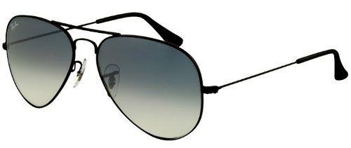 f480e027561 Ray-Ban Aviator Large Metal Sunglasses RB3025 002 3F-5814 - Black Crystal