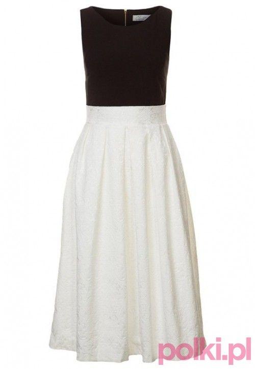 6121af58e0 Czarno-biała sukienka