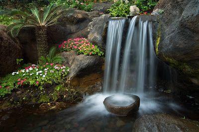 Merveilleux Serenity In The Garden: Zen Gardens And The Water Dividing Stone