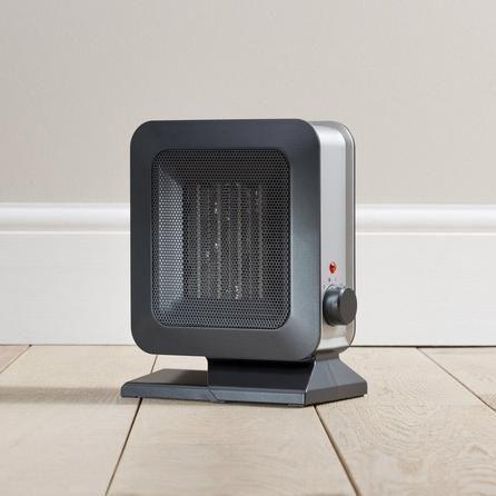 Ptc Small Black Ceramic Fan Heater 1400w Ceramics Fan Black