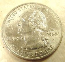 ERROR COIN NEW HAMPSHIRE 2000 STATE QUARTER MISSING REVERSE