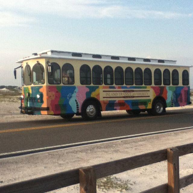 Pensacola Beach Trolley