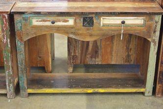 Solid Wood Furniture San Antonio Reclaimed Teak Agave Ranch