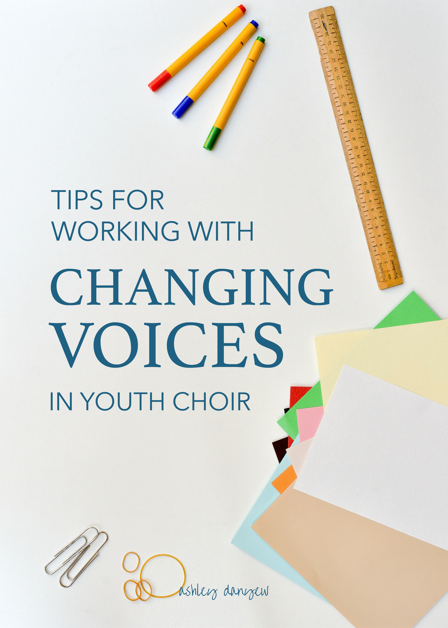 Tips For Working With Changing Voices In Youth Choir
