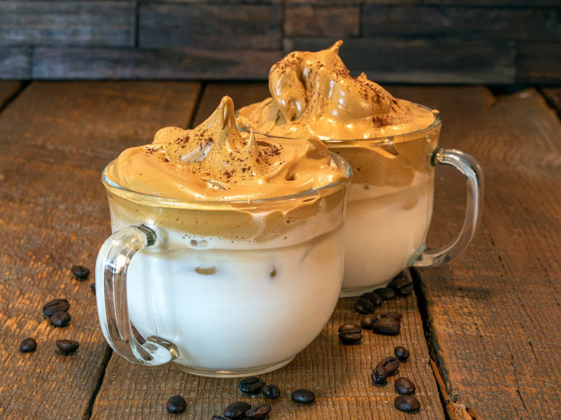 Enjoy the most decadent cup of whipped coffee in only five