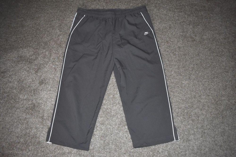 Fugaz Fondo verde Cien años  Nike Womens Gray White Capri Pants Yoga/ Running Size Large L 12-14 #Nike # Capri   White capri pants, Nike women, Pants