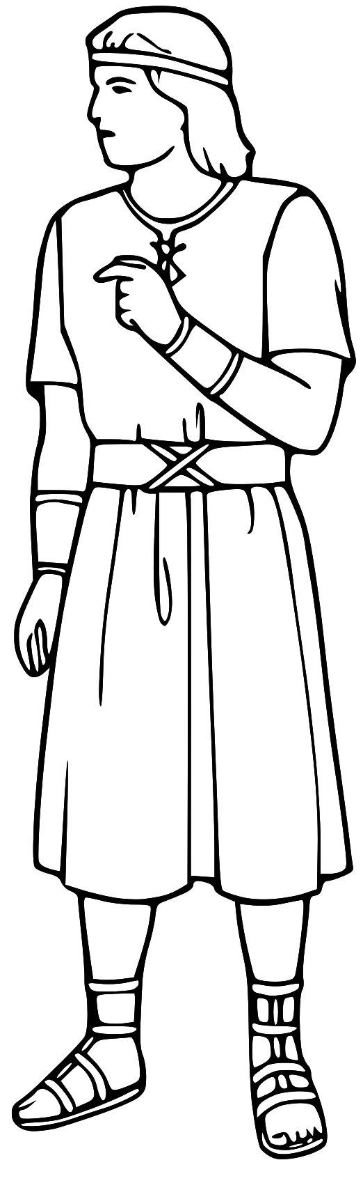 Clipart Black And White Bible Color Activities Clipart Black And White Bible Characters