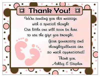 20 Polkadot Baby Feet Baby Shower Thank You Cards Baby Shower Cards Baby Shower Thank You Cards Baby Thank You Cards