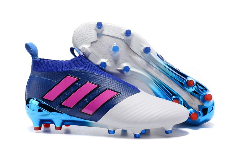 dc9207a36e9f adidas ACE 17+ Purecontrol FG - Blue and Shock Pink | Adidas ACE ...