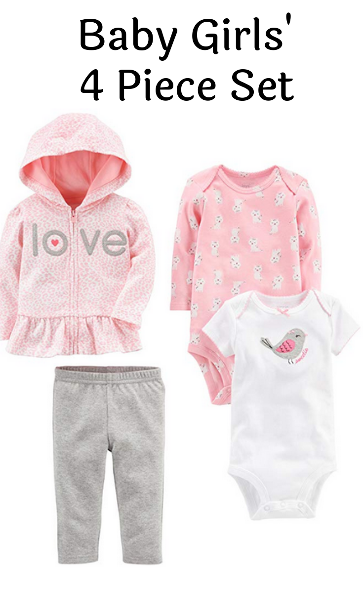 and Pant Set Bodysuit Simple Joys by Carters Baby 4-Piece Jacket