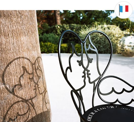 La chaise ange chez Fermob : romantisme et originalité signés JC ...