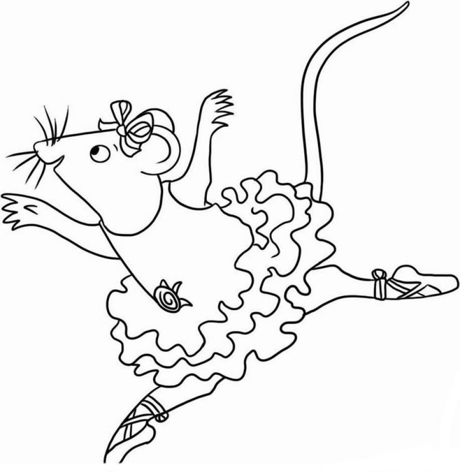 Angelina Ballerina Coloring Pages Free Printable 772660 Ballerina Coloring Pages Angelina Ballerina Nick Jr Coloring Pages