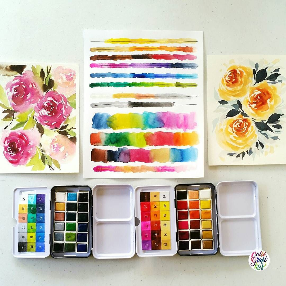 By Calligrafikas Review For Prima Watercolor Confections These